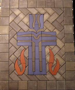 Cross & Flames