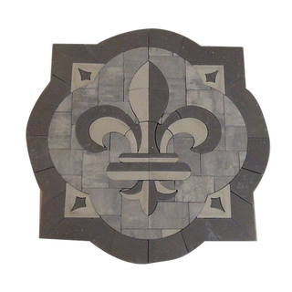 Acanthus Fleur-De-Lis - SKU: ELCANF01SP1