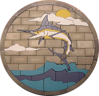 Leaping Marlin - SKU: AML001SP2