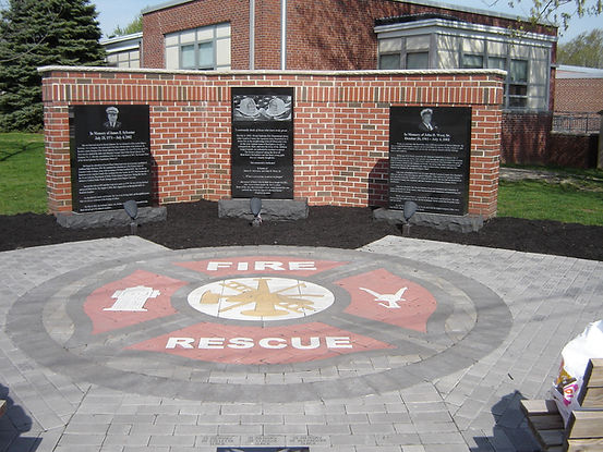 PAVERART Fire Department Collection of Custom Hardscaping Inlays