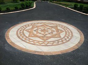 PAVERART Elements Collection of Custom Inlays for Outdoor Living
