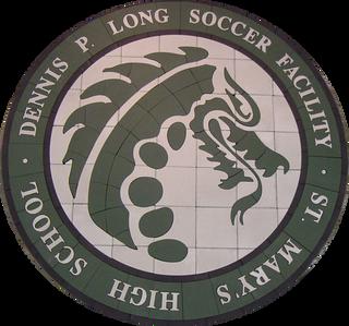 St. Mary's High School Paver Logo