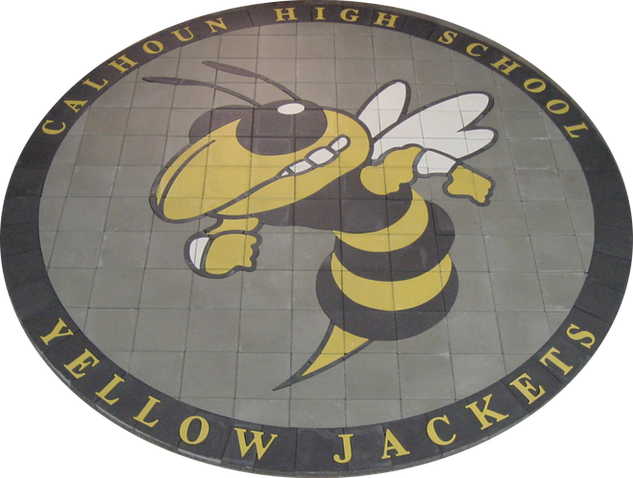 Calhoun High School Paver Logo