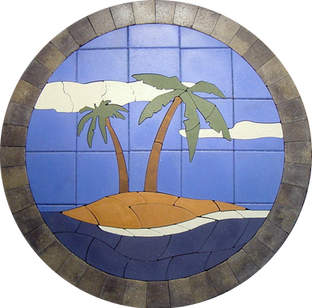 Island Palms - SKU: TIP001