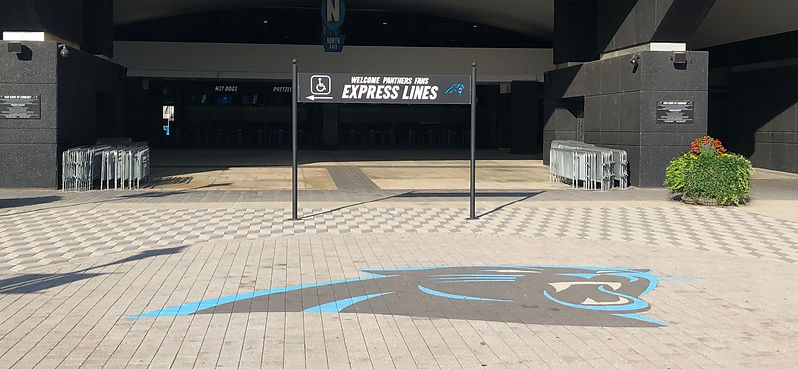 Commercial Paver Logo by PAVERART for Pro Sports Teams