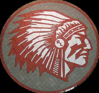 Red Lake High School Paver Logo