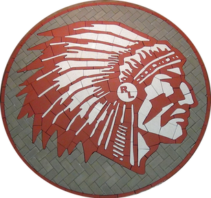 Red Lake High School Paver Logo