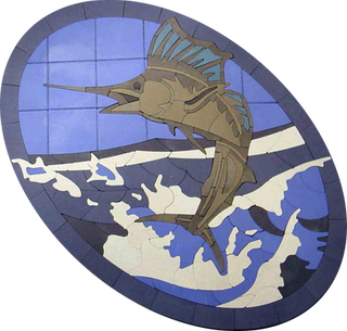 Leaping Marlin - SKU:  AML001