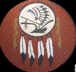 Indian Tribe Paver Logo
