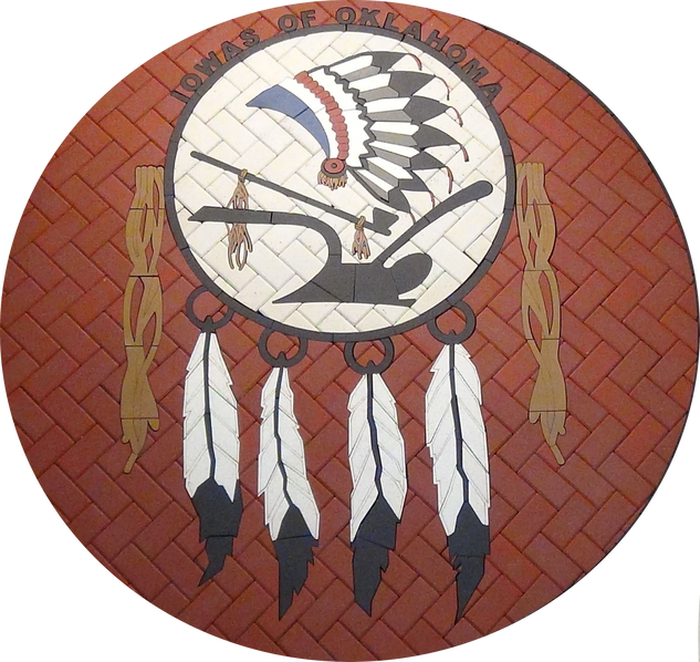 Indian Tribe Paver Logo