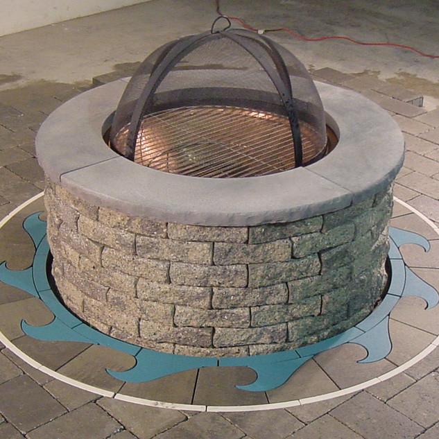 Firepit Ring Wave - SKU:  FPR 003