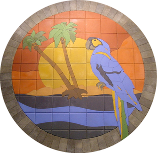 Tropica Parrot #1 - SKU:  TP001