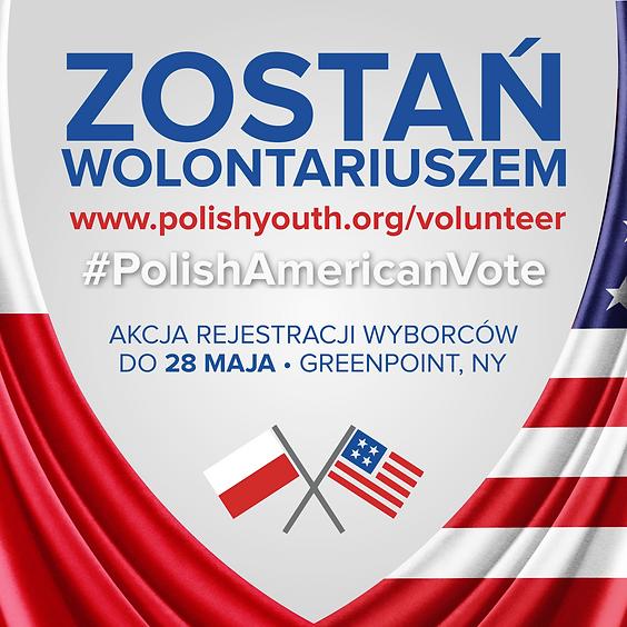 Zostań wolontariuszem #PolishAmericanVote!