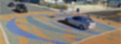 PAVERART Municipal Artistic Streetscape for Intersections, Wildwood NJ