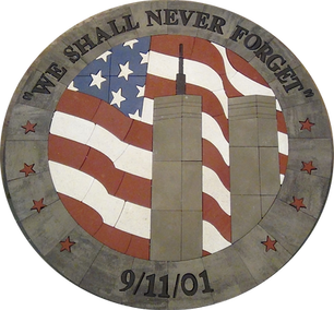 """""""We Shall Never Forget"""" Twin Towers"""