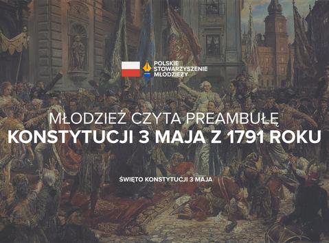 Czytanie Preambuły Konstytucji 3 Maja
