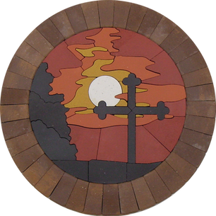 Cross At Sunset - SKU: SCS001