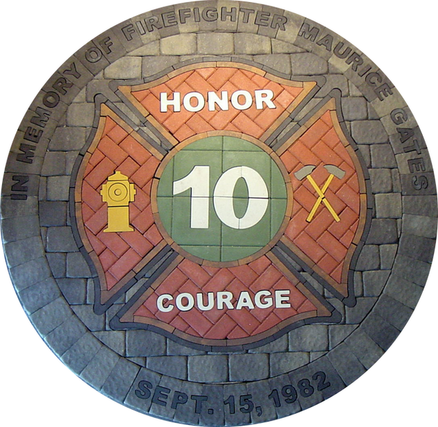 Firefighter Memorial Maltese Cross