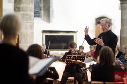 Nigel Edwards Conducting at St Mary's Church Fordingbridge