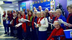 Choir at Salisbury Hospital