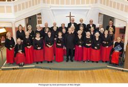 FCS in Concert Dress at URC Fordingbridge