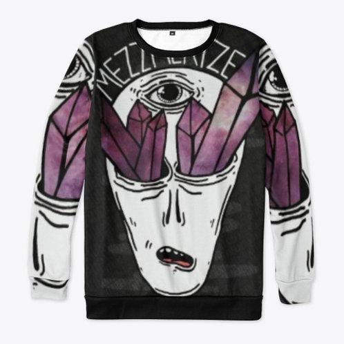 Mezzmerize Alien All Over Print Sweatshirt