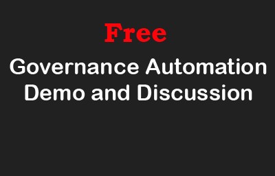 Book a Governance Automation Demo