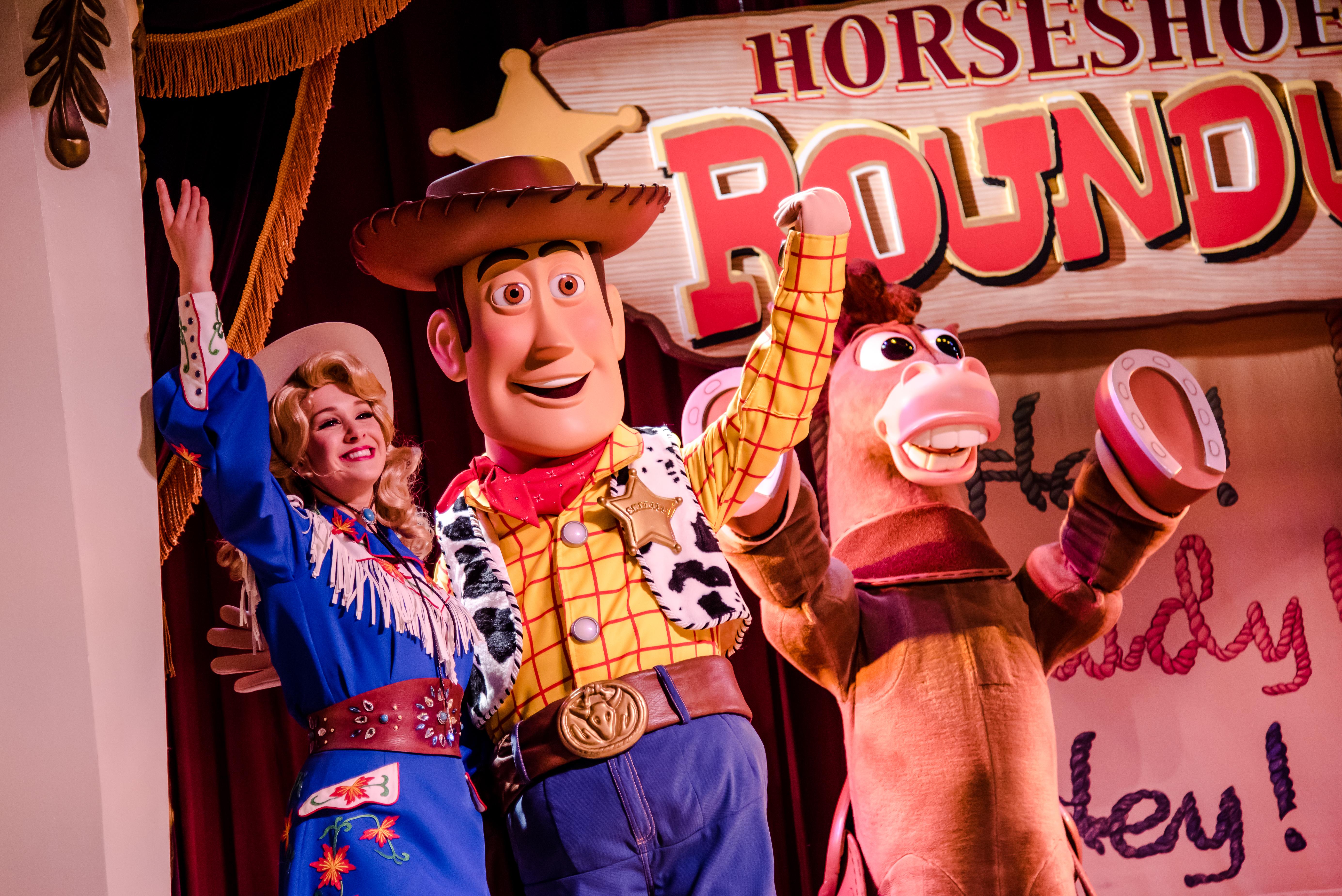Horseshoe Round Up at Tokyo Disney Resort