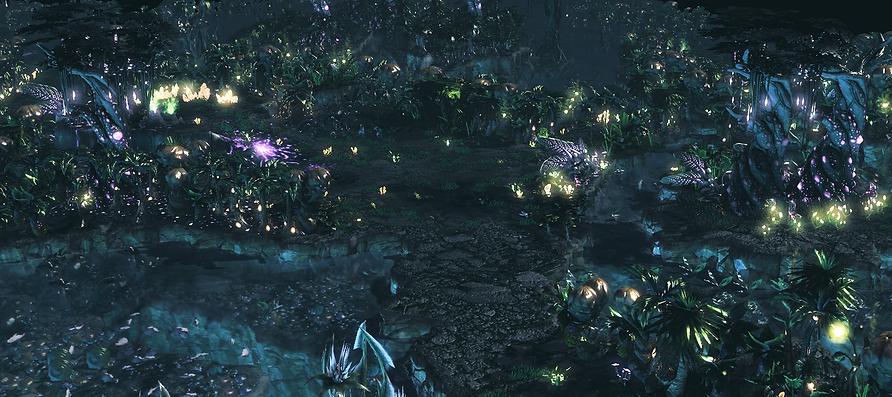 LuminousPlateauForests