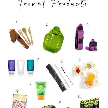 10 Eco-Friendly Travel Products