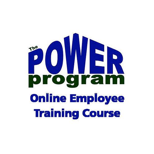 P.O.W.E.R.™ Employee Online Training Course