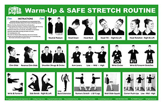 POWER Program - POSTER 61 - Warm-Up and