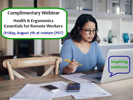 Health & Ergonomics Essentials for Remote Workers