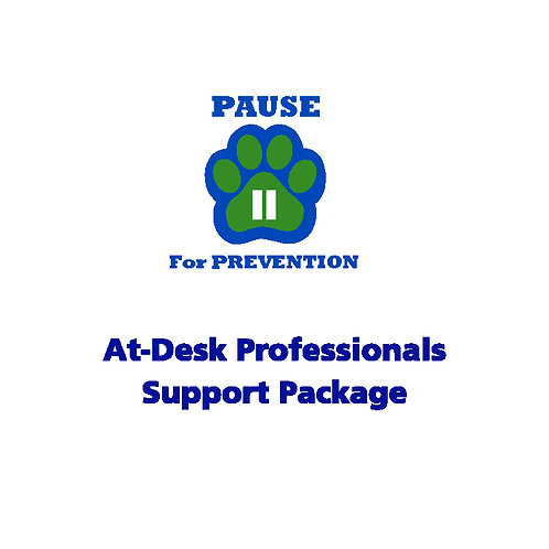 P.A.U.S.E.™ At-Desk Professionals Visual Support Package