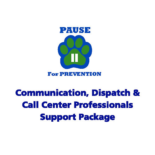 P.A.U.S.E.™ Communication & Call Center Professionals Visual Support Package-AEA