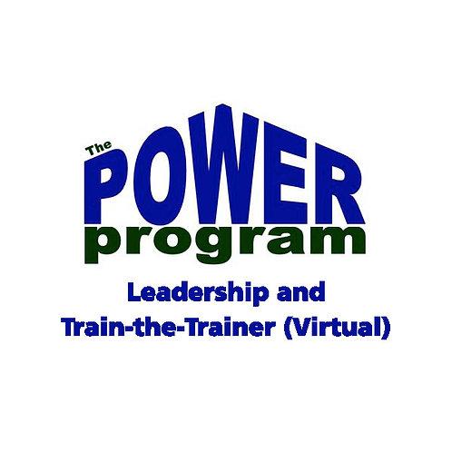 P.O.W.E.R.™ Leadership & Train-the-Trainer (Virtual)