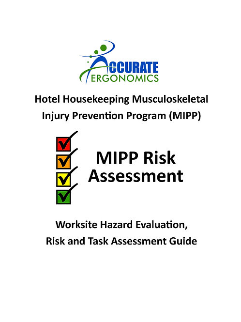 Hotel Do-it-Yourself Worksite Risk Assessment Package