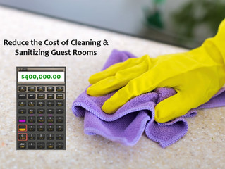 How to Reduce the Cost of Cleaning & Disinfecting Hotel Guest Rooms