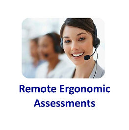 Remote Ergonomics Assessments Logo on 4x