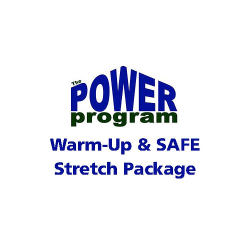 P.O.W.E.R.™ Warm-Up & SAFE Stretch Package (English)