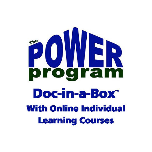 P.O.W.E.R.™ Training Package with Online Learning Courses