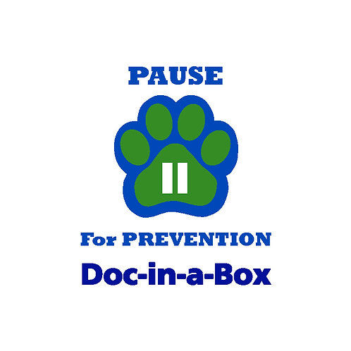 P.A.U.S.E.™ for Prevention™ Classroom Training Package (Doc-in-a-Box)