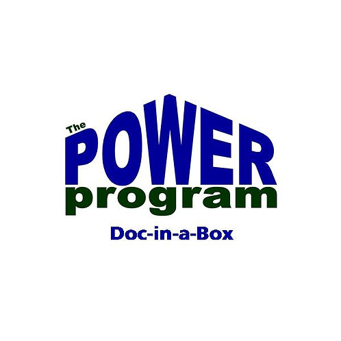 P.O.W.E.R.™ Training Package (Doc-in-a-Box™) (WD)