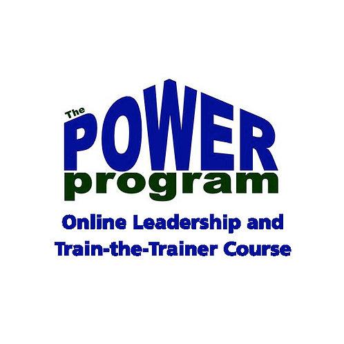 P.O.W.E.R.™ Online Leadership & Train-the-Trainer Course
