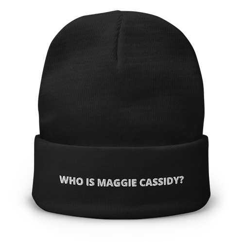 WIMG? Embroidered Beanie