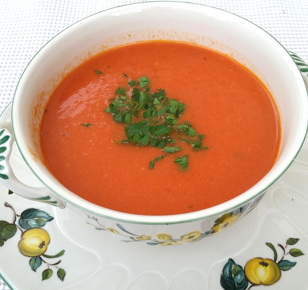 Tomatensuppe einfach und lecker