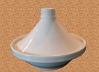 Lamm-Tajine mit gebratenem Kürbis