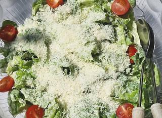 """""""Caesar's Salad"""" ohne Eigelb und Sardellen"""