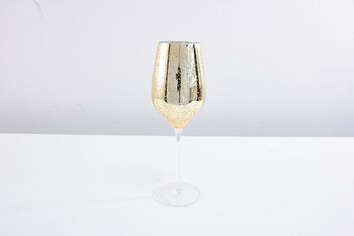 Stardust wine glass  / gold