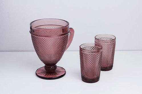 Set 1Jar+2 cups /Pink